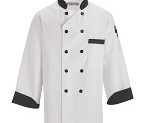 Black Trim Chef jacket